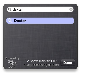 Tv Show Tracker addomestica le serie TV