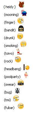 Skype e le sue emoticon nascoste