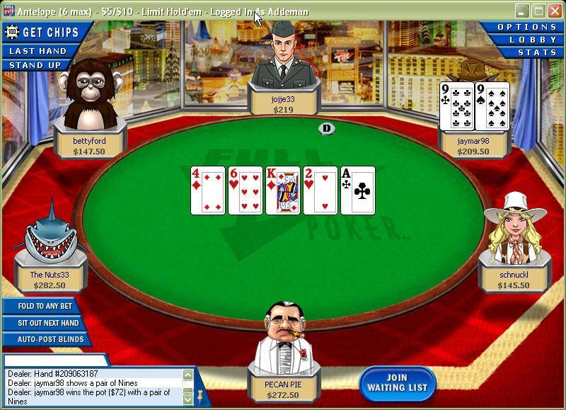 Full til poker