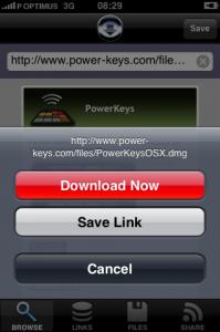 iDownload: Scarica tutti i file che vuoi dal tuo iPhone!