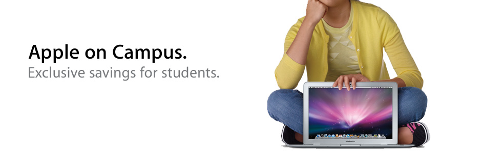 Apple on Campus: come risparmiare sull'acquisto del Mac.