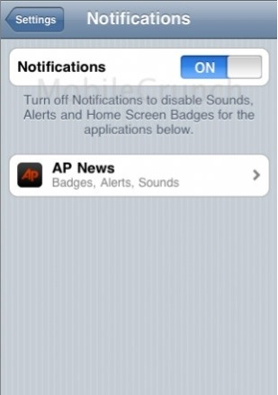 Iniziati i test per le notifiche Push su iPhone