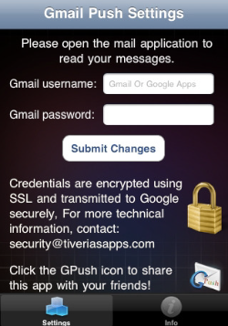 Le notifiche Push di Gmail su iPhone con GPush