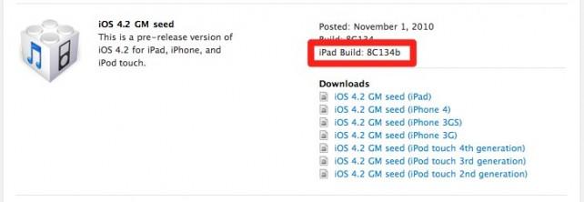 Rilasciata seconda versione di iOS 4.2 GM