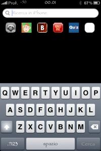 iPhone: SpotBright, le applicazioni recenti in un tap