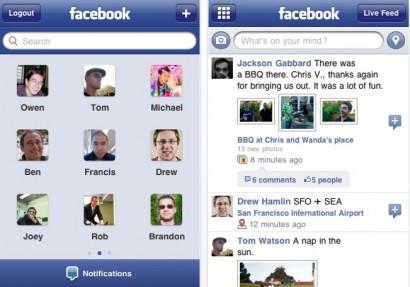 App Store: aggiornamento per Facebook (v. 3.3.1)