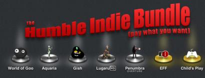 Paga quanto vuoi per il bundle di giochi di Humble Indie
