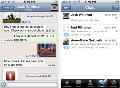 App Store: aggiornamento per WhatsApp Messenger