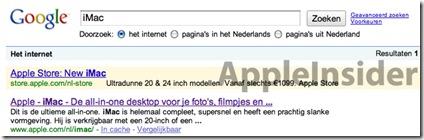 Nuovi iMac e novità per Mac Mini e Macbook? Parola di Google Adsense!