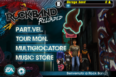 [Recensione] Rock Band Reloaded per iPhone