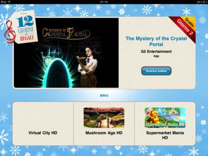 12 giorni di regali: The Mystery of the Crystal Portal è il gioco del secondo giorno