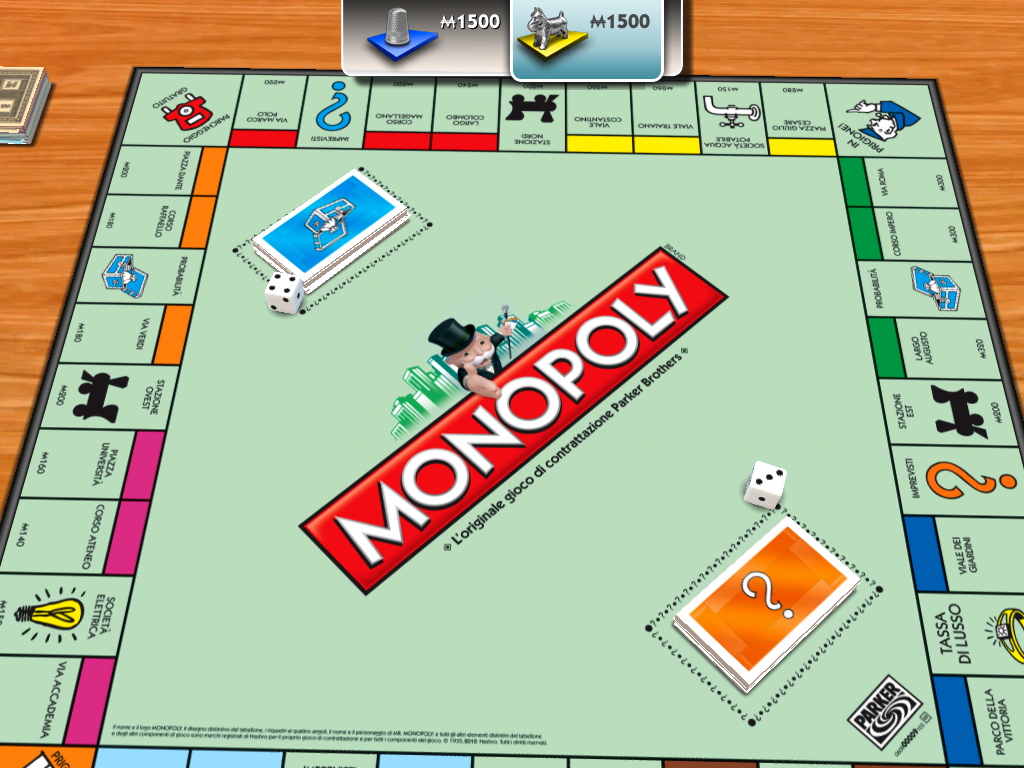 Recensione monopoly per ipad - Monopoli gioco da tavolo ...