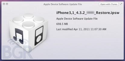 iOS 4.3.2 in arrivo tra circa due settimane