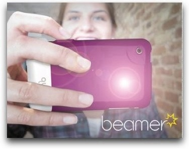 Beamer: una custodia con luce Led per iPhone