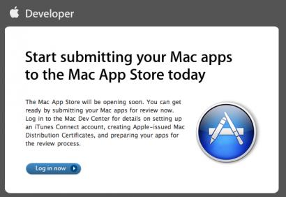 Mac App Store: al via le applicazioni