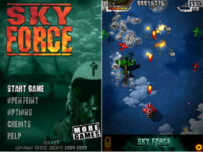 iPhone: Sky Force gratis per oggi