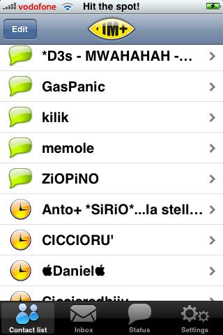 IM+, nuovo IM per iPhone