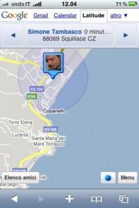 Google Latitude ora anche per iPhone