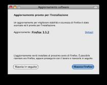 Aggiornamento per Firefox: 3.5.2
