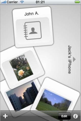 Mover Edge: trasferisci files tra iPhone via Bluetooth e Wifi