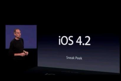 Apple rilascia la versione GM di iOS 4.2