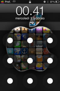 AndroidLock, lockscreen Android su iPhone