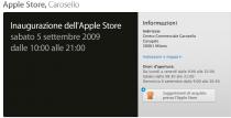 Apple Store di Milano, al via dal 5 settembre