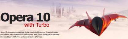 Mac/Linux/Win: Disponibile Opera 10, ora con Turbo