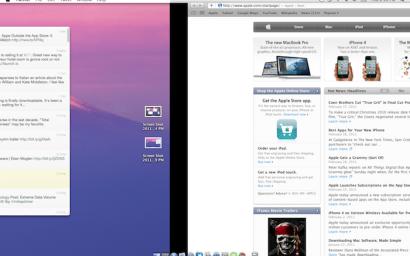 Primi dettagli ed immagini del nuovo sistema operativo OsX Lion