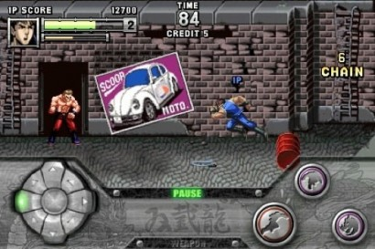 Il remake di Double Dragon su iPhone a marzo