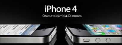 Apple ufficializza prezzi e disponibilità dell'iPhone 4 in Italia, 659€ e 779€