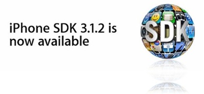 Apple: Aggiornamento per SDK 3.1.2