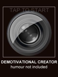 App Store: arriva per iPhone Demotivational Creator
